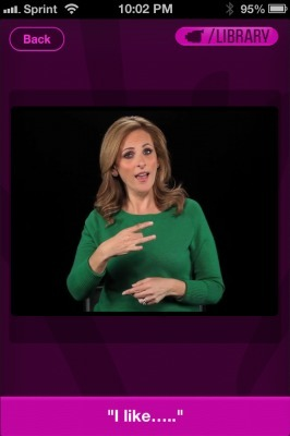 Actress Marlee Matlin brings sign language lessons to your phone with Marlee Signs app | Medical Apps | Scoop.it