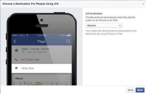 Facebook Debuts Call-to-Action Buttons for Pages | Social Media Bites! | Scoop.it