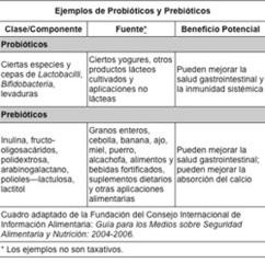Probióticos y prebiótico Beneficios para la salud | Probióticos y Prebióticos | Scoop.it