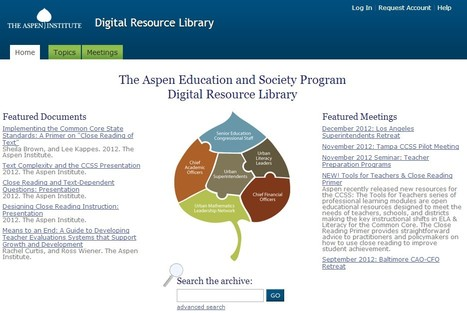 NEW! Tools for Teachers & Close Reading Primer - Aspen DRL | Wiki_Universe | Scoop.it
