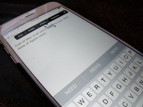 iOS 8 trick lets you change words to ALL CAPS with a tap | Into the Driver's Seat | Scoop.it