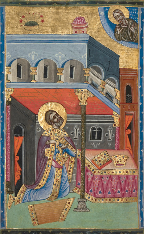 Illuminated manuscripts were products of... | The Getty | Navigate | Scoop.it