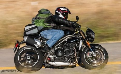 2016 Triumph Speed Triple S Review | California Flat Track Association (CFTA) | Scoop.it