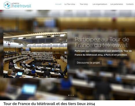 Le Tour de France du télétravail est lancé | Collaboratif-Info | Tiers lieux - Coworking & Co | Scoop.it