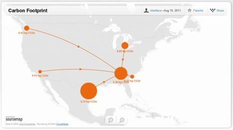 Welcome to Sourcemap.com   green infographics   Scoop.it