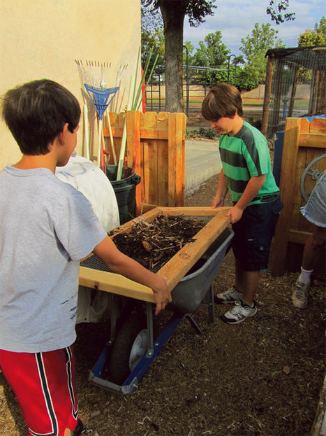 Food for Thought: School Gardens Encourage Kids to Make Good Choices | School Gardening Resources | Scoop.it