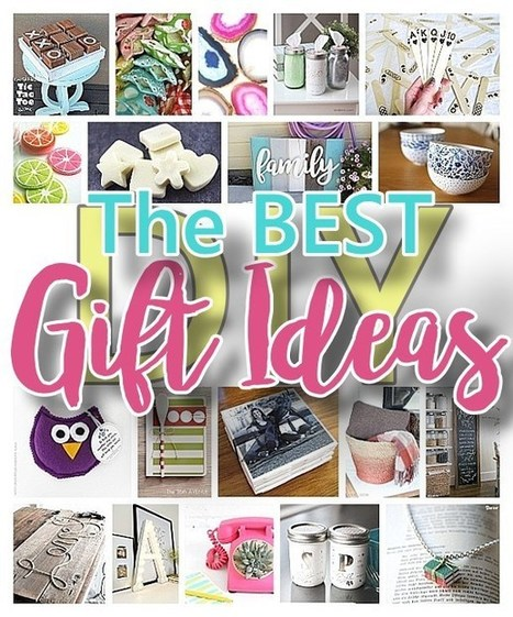 The BEST Do it Yourself Gifts – Fun, Clever and Unique DIY Craft Projects and Ideas for Christmas, Birthdays, Thank You or Any Occasion   Essentially Mom Favorites   Scoop.it