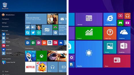 6 saker som gör Windows 10 bättre än Windows 8 - IDG.se | Digitala verktyg för lärandet. En skola i förändring. | Scoop.it