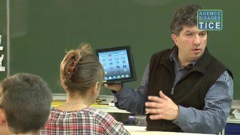 L'Agence nationale des Usages des TICE - Tablettes tactiles : premier bilan de l'expérimentation dans l'académie de Grenoble | Learning & Mobile | Scoop.it