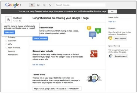 How to Create a Google+ Business Page in 5 Simple Steps | Social Media Productivity | Scoop.it
