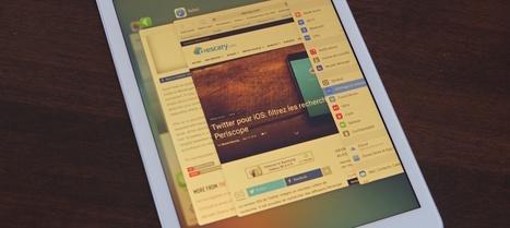 iPhone iPad: connaissez-vous le mode Night Shift ?   TIC et TICE mais... en français   Scoop.it