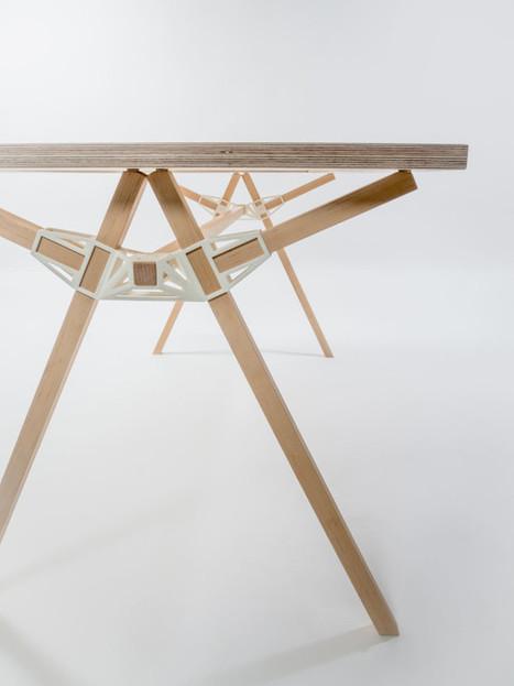3D-Printed Furniture Joinery by Studio Minale-Maeda | 3DPrinting & Design - Impression 3D & Design | Scoop.it