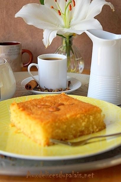 Chamia Kalb el louz au yaourt / Ramadan 2016 | Gâteaux algériens modernes & traditionnels | Scoop.it