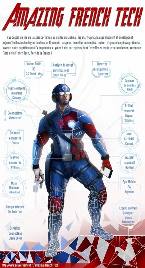 Le gouvernement imagine un Iron Man à la française ! | objets-connectes | Scoop.it