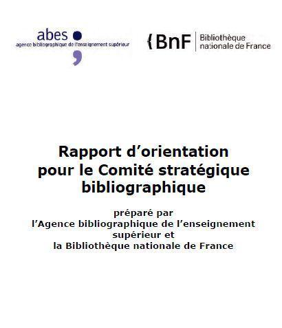 Rapport d'orientation du Comité stratégique bibliographique : une vision pour le futur des catalogues | Bibliothèque | Scoop.it