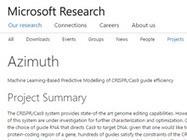 Azimuth | CRISPR/Cas9: Genome editing - OMICtools | SynBioFromLeukipposInstitute | Scoop.it