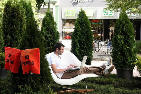 REGARDS SUR LE NUMERIQUE | Park(ing) day : hackez la ville ! | Temps de la ville | Scoop.it