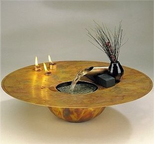 Exalted Fountains   Water and Fire Table Water Fountain   Indoor Fountains In All Sizes   Scoop.it