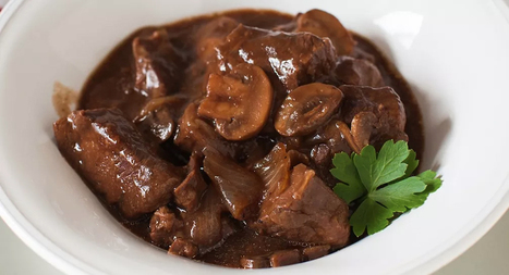 Slow Cookers Red Wine and Mushroom Beef Stew | The Slow Cooker Recipe Blog | Scoop.it