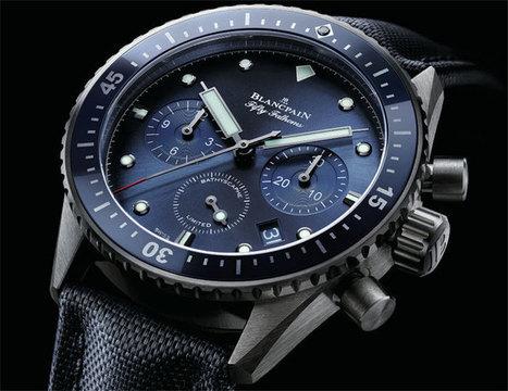 Blancpain Bathyscaphe Chronographe Flyback Ocean Commitment | Montre, Horlogerie,Chronos | Scoop.it