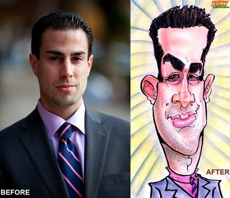 Our latest caricature Custom Caricature From Photo | Custom Caricatures | Scoop.it