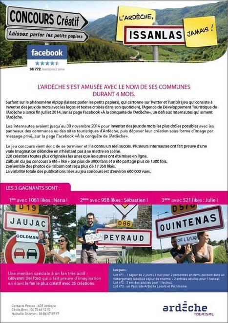 Ardèche : résultat du concours sur les noms des communes - Marketing territorial | Communication Publique et Communication Politique | Scoop.it
