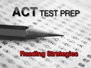 ACT Reading Strategies Test Prep FREE | Common Core Resources for ELA Teachers | Scoop.it