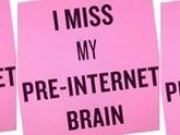 Mon cerveau d'avant Internet me manque de plus en plus - Rue89 | Olé ITyPA | Scoop.it