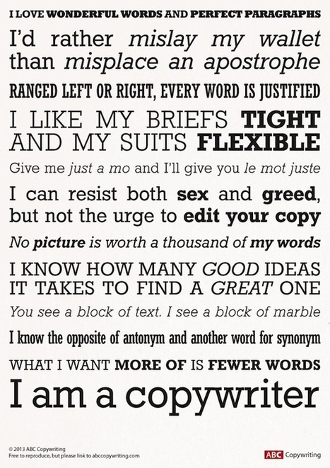 A Short Guide to Writing Good Copy | Redaccion de contenidos, artículos seleccionados por Eva Sanagustin | Scoop.it
