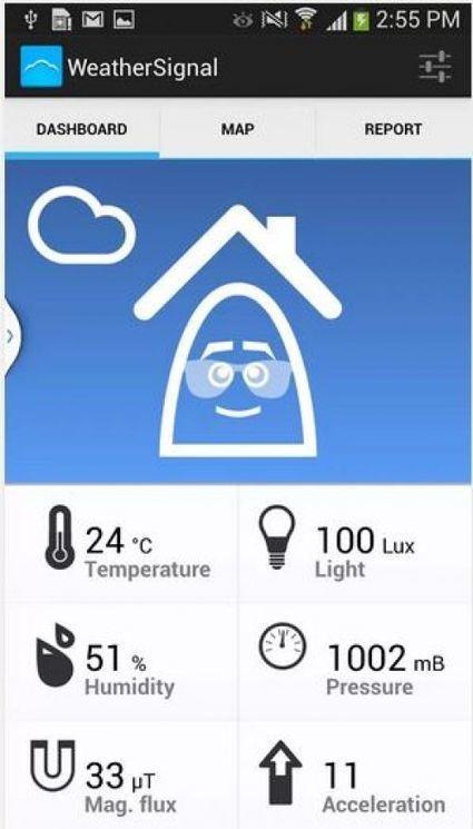 Les météorologues s'intéressent à votre smartphone | Veille smartphone | Scoop.it