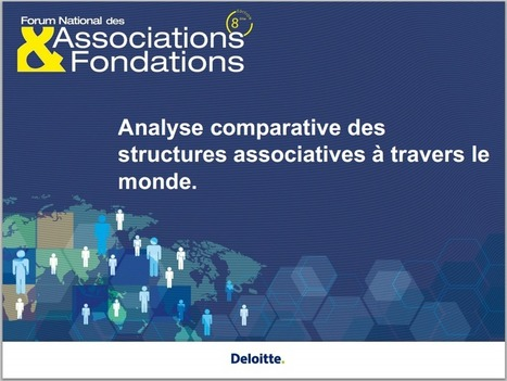 Analyse comparative des structures associatives à travers le monde. Une Etude de Deloitte- – CNRS Centre d'Economie Sociale | Associations : communication, partenariats, recherche de financement.... | Scoop.it