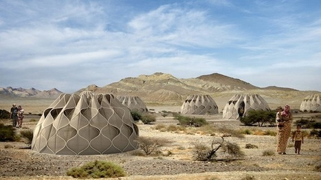 Collapsible woven refugee shelters powered by the sun | Sustainism | Scoop.it