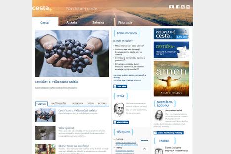 Portál cesta+ čítalo v apríli takmer 200 000 ľudí | Správy Výveska | Scoop.it