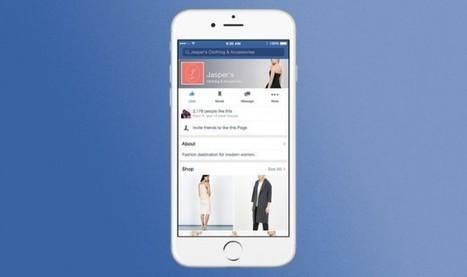 Facebook fait un nouveau pas vers le e-commerce | Marketing Digital et Internet | Scoop.it