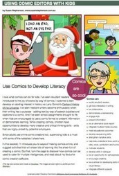 Free PDF, Using Comic Editors with Kids | Writing Activities for Kids | Scoop.it