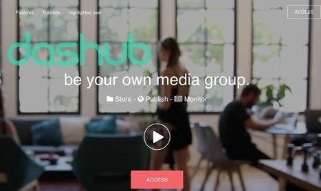 Dashub. Outil de veille, curation et diffusion de l'information – Les outils de la veille | Info-Doc | Scoop.it