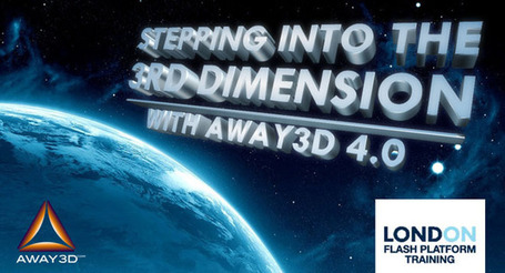 infinite turtles » Blog Archive » New Away3D 4.0 training in London | Everything about Flash | Scoop.it