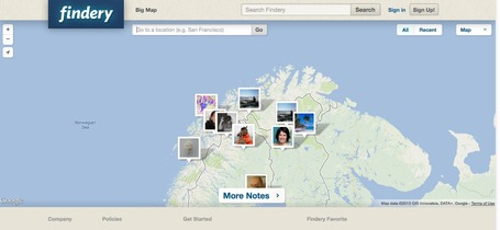 Findery - Share A Story on Google Maps | formation 2.0 | Scoop.it