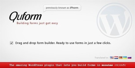 Quform v1.4.9 WordPress Form Builder | Download Free Nulled Scripts | THINGS and stuff | Scoop.it