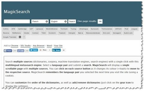 The Magical Search engine for Terminology - | French law for non french-speaking patrons - Legal translation tools | Scoop.it