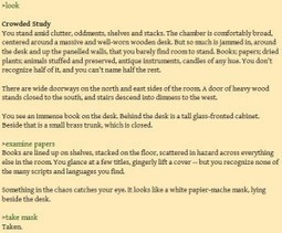 Teaching Composition with Interactive Fiction - TECHStyle   Digital  Humanities Tool Box   Scoop.it