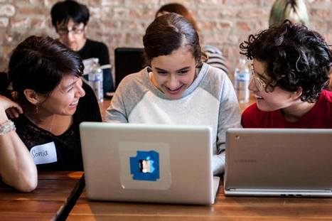 Mother-Daughter Programming Workshop Brings Women Together Over 'Code ... - Chicago Inno | COMPUTATIONAL THINKING and CYBERLEARNING | Scoop.it