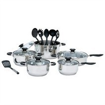 # Buy Discount 16pc Stainless Steel Cookware and Kitchen Tool Set - Automotive Online | Bsetoppoerptporet | Scoop.it