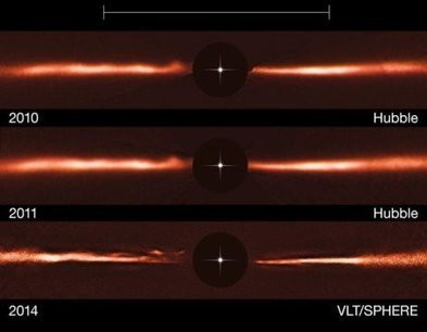 Mysterious ripples found racing through planet-forming disc: Unique structures spotted around nearby star #gravity | Limitless learning Universe | Scoop.it
