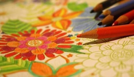 Des coloriages pour adultes anti-stress : pourquoi l'art peut être la ... - Le Nouvel Observateur | Cosmic joke | Scoop.it
