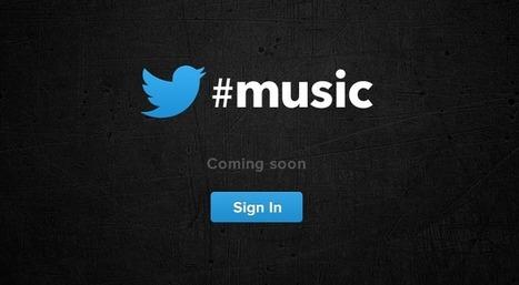 Twitter Music es lanzado Oficialmente | Social Media Director | Scoop.it