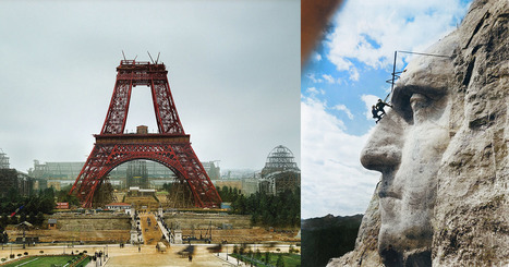10 Colorized Vintage Photos of Famous Landmarks Being Built | xposing world of Photography & Design | Scoop.it