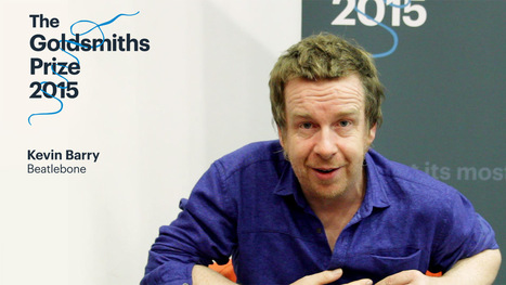 The Goldsmiths Prize 2015-Kevin Barry   The Irish Literary Times   Scoop.it