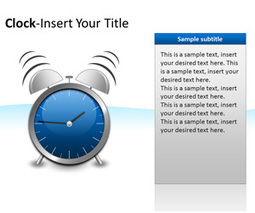 Clocks PowerPoint Templates   ppt   Scoop.it