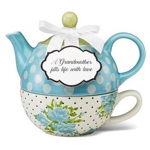 Just For Grandma Teapot Set for One | Valentine Gifts for Grandma | Scoop.it